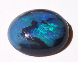 Lightning Ridge Black Opal Picture Opal 0.87 Cts
