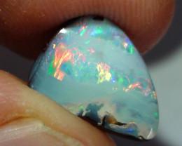 3.70 ct Gem Multi Color Queensland Boulder Opal