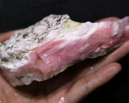 805.00 CTS  LARGE PINK OPAL  ROUGH FROM PERU  [F8402]