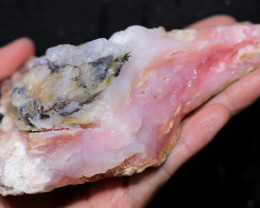 1130.00 CTS  LARGE PINK OPAL  ROUGH FROM PERU  [F8406]