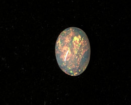 0.48ct Coober Pedy white solid opal