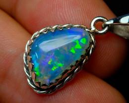.925 Sterling Silver Natural Solid Opal Wello Dalanta