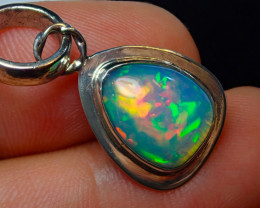 .925 Sterling Silver Natural Solid Opal Wello Dalanta