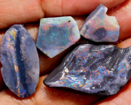 14.75-CTS  BLACK OPAL ROUGH  L. RIDGE  DT-9673
