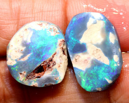 15.40-CTS  BLACK OPAL ROUGH  L. RIDGE  DT-9689