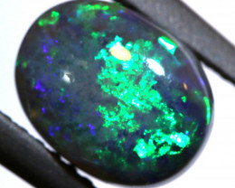 N2 -1.99   -CTS   BLACK OPAL  POLISHED STONE TBO-A34