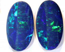 14.60-CTS   OPAL DOUBLET PAIR  LO-5562