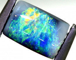 N3 -   0.95CTS   L.RIDGE BLACK OPAL  POLISHED STONE TBO-A42