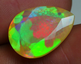 6.75 CRT WONDERFULL FACETED NEON HONEYCOMB PLAY COLOR WELO-