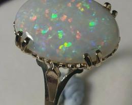 2.5cr Australian Opal 9k Gold Custom Ring
