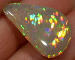 11.25 ct Honeycomb Rainbow Prism Welo Opal