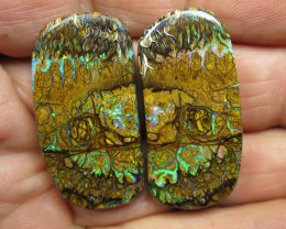 113cts, QUALITY YOWAH OPAL PAIR.