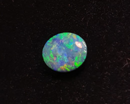 Australian Opal Doublet. Polished Composite Gemstone
