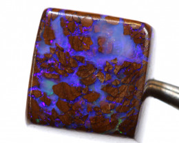 8.10- CTS  BOULDER OPAL BEAD  DRILLED  LO-5637