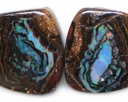 16.09 CTS WELL POLISHED PAIR BOULDER STONES [BMA9162]