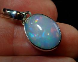 14.97ct Blazing Welo Solid Opal Pendant