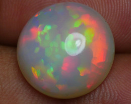 6.05 CRT AMAZING ROUND PRISM PUZZLE FIRE PATTERN WELO OPAL-