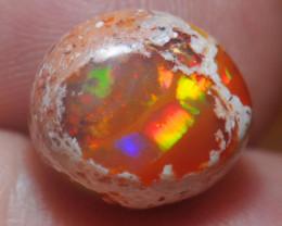 5.8ct. Mexican Matrix Cantera Multicoloured Fire Opal