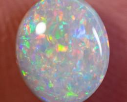 1.34ct SOLID DARK OPAL LIGHTNING RIDGE GEM $1 N/R AUCTION SBCA051219
