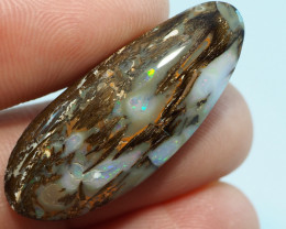 19.10CT WOOD REPLACEMENT BOULDER OPAL AA671