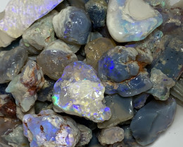 POTENTIAL ROUGH; 500 CTs of Lightning Ridge Rough Opal #2151