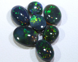 N1 -  4.70 CTS GEM BLACK OPAL POLISHED STONE PARCEL INV-1413