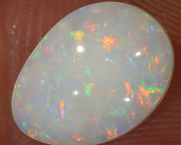 2.15ct 11x8mm Solid Coober Pedy White Opal [LO-1931]