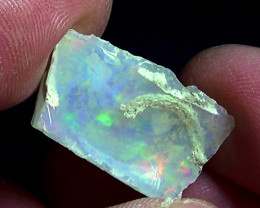 13.65 cts Ethiopian Welo rough crystal opal N9 3/5