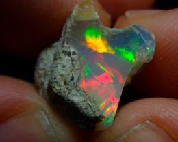 6.6ct A2 Gamble Quality Rough Ethiopian Wello Opal Specimen