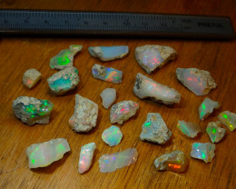 150ct A6 Gamble Quality Rough Ethiopian Wello Opal Specimen