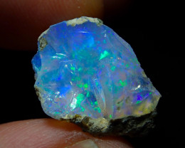 8ct A9 Gamble Quality Rough Ethiopian Wello Opal Specimen