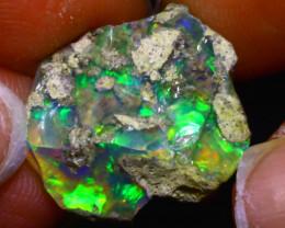 10.28Ct Multi Color Play Ethiopian Welo Opal Rough F1104