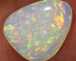 2.35ct 13x11mm Solid Coober Pedy White Opal [LO-1952]