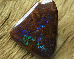 10cts, BOULDER MATRIX OPAL~2 SIDED STONE.