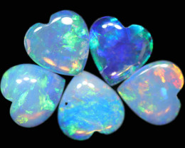 1.31 CTS CRYSTAL OPAL  PARCEL HEART SHAPE FROM COOBER PEDY[SEDA2790]