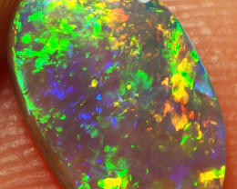 0.75CT LIGHTNING RIDGE CRYSTAL OPAL  AA703