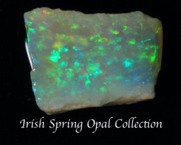 NO RESERVE!! #1- Irishspring Collection- Rough Opal  CP [25327] 53FROGS