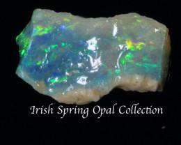 #1 -NO RESERVE!!- Irishspring  - Rough Opal  CP [25329] 53FROGS