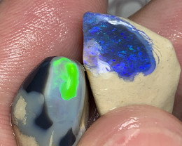 2 ROUGH CRYSTAL NOBBY TO CUT****SEE VIDEO PLZ #2237