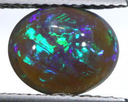 N1 -  1.7 CTS QUALITY BLACK OPAL POLISHED STONE  INV-1420