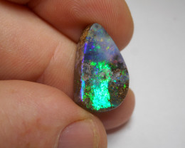 11ct Neon Flash Boulder Polished Stone
