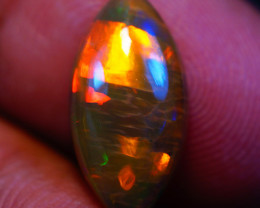 2.29CT 16X8MM SATURATED PATTERN!!  Welo Ethiopian Opal-GA529