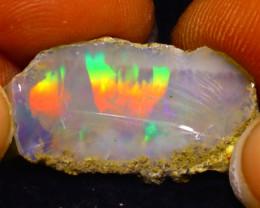 7.40Ct Multi Color Play Ethiopian Welo Opal Rough F1712