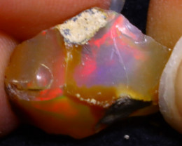 6.20Ct Multi Color Play Ethiopian Welo Opal Rough F1918