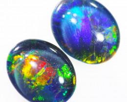 Australian made Fire  Opal Triplet  OPJ 2601
