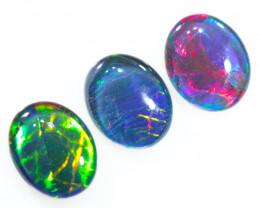 Australian made Fire  Opal Triplet  OPJ 2602