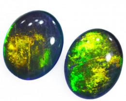 Australian made Fire  Opal Triplet  OPJ 2603