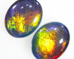 Australian made Fire  Opal Triplet OPJ 2606