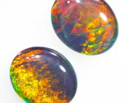 Australian made Fire  Opal Triplet OPJ 2610