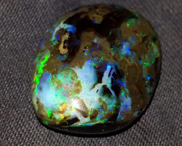 35.00 CRT GALAXY PIN FIRE SPECIMENT INDONESIAN OPAL WOOD FOSSIL